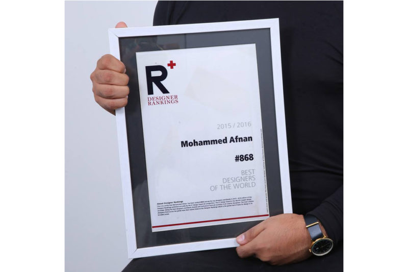 HT ranked #868 as BEST DESIGNERS OF THE WORLD.
