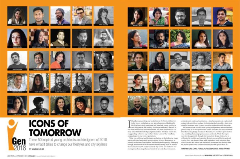 Humming Tree on iGen2018 Top 50 Young Architects _ India