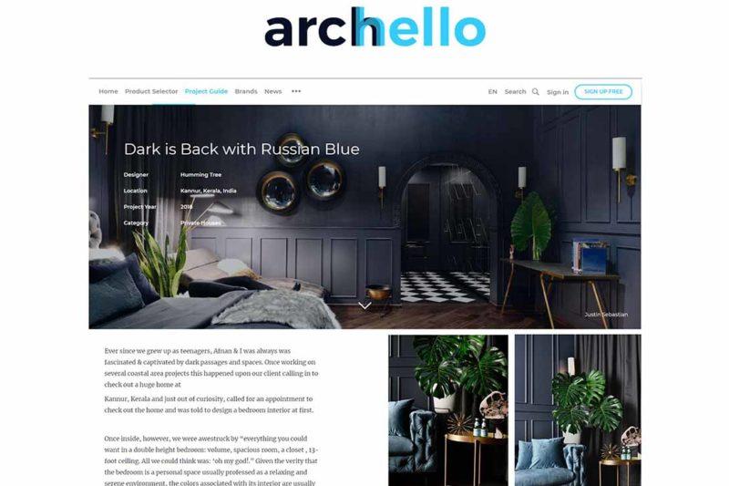 Hello Yellow office featured on ARCHELLO.