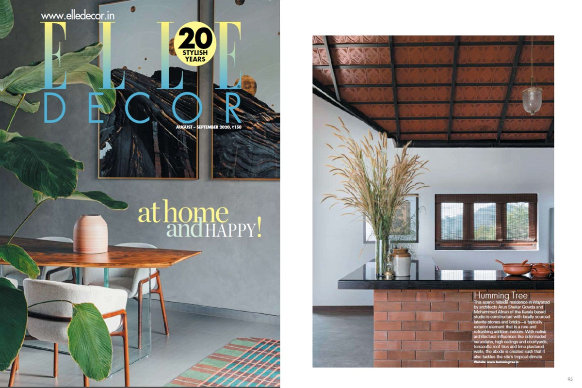 Weekend Home featured on ELLE DECOR