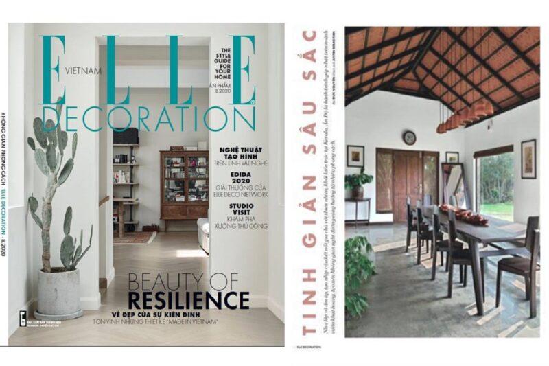 International feature on ELLE DECOR Vietnam